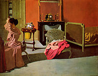 Woman being capped, 1900, vallotton
