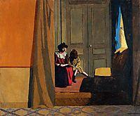 Woman Reading to a Little Girl, 1900, vallotton