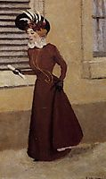 Woman with a Plumed Hat, 1895, vallotton