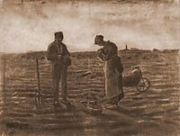 The Angelus (after Millet), 1880, vangogh