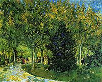 Avenue in the Park , 1888, vangogh