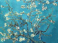 Branches with Almond Blossom , 1890, vangogh