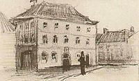 Building in Eindhoven (the Weigh-House), 1885, vangogh