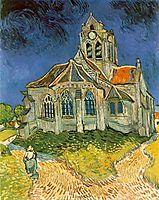 The Church at Auvers-sur-Oise, 1890 (jun), vangogh