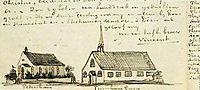 Churches at Petersham and Turnham Green, vangogh