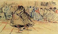 Couple Dancing, 1885, vangogh