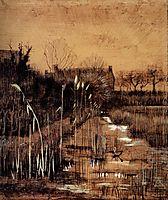 Ditch, 1884, vangogh