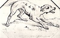 Dog, vangogh