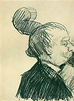 Double-Bass Player, 1887, vangogh