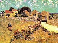 Farmhouse in Provence, 1888, vangogh