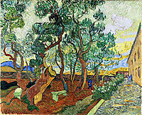 The Garden of St. Paul-s Hospital at St. Remy, 1889, vangogh