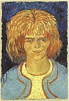 Girl with Ruffled Hair (The Mudlark), 1888, vangogh