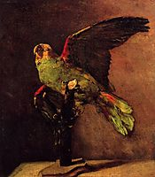The Green Parrot, 1886, vangogh