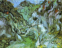 The gully Peiroulets, 1889, vangogh
