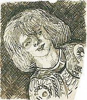 Head of a Girl, 1888, vangogh