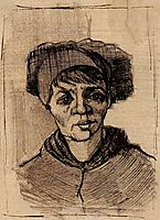 Head of a Woman, 1885, vangogh