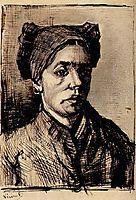Head of a Woman, c.1885, vangogh