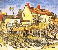 The House of Pere Eloi, 1890, vangogh