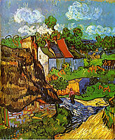 Houses in Auvers 2 , 1890, vangogh