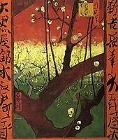 Japonaiserie (after Hiroshige), 1887, vangogh