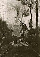Lane in Autumn, 1884, vangogh
