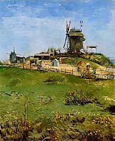 Le Moulin de la Gallette , 1887, vangogh