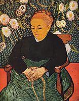Madame Roulin Rocking the Cradle (La Berceuse), 1889, vangogh