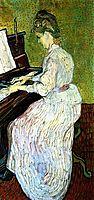 Marguerite Gachet at the Piano, 1890, vangogh