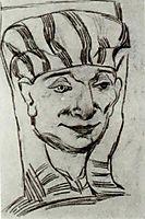 Mask of an Egyptian Mummy 2, 1889, vangogh