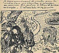 Memory of the Garden at Etten, 1888, vangogh