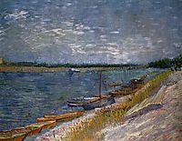 Moored Boats, 1887, vangogh