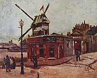 The Moulin de la Galette, 1886, vangogh