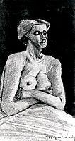 Nude Woman, Half-Length, 1882, vangogh