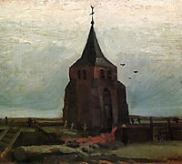 The Old Tower , 1884, vangogh