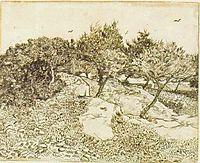 The Olive Trees, 1888, vangogh