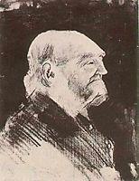 Orphan Man, Bareheaded, 1883, vangogh