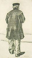 Orphan Man with Cap, Seen from the Back, 1882, vangogh