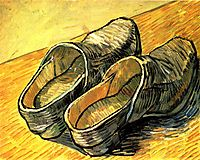 A Pair of Leather Clogs, 1888, vangogh