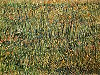 Pasture in Bloom, 1887, vangogh