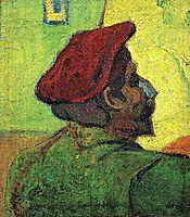 Paul Gauguin (Man in a Red Beret), 1888, vangogh