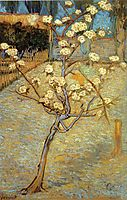 Pear Tree in Blossom, 1888, vangogh