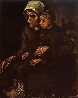 Peasant Woman with a Child in Her Lap, 1885, vangogh