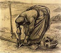 Planting Beets, 1885, vangogh