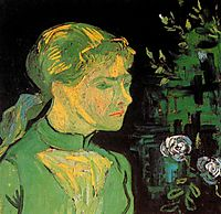 Portrait of Adeline Ravoux, 1890, vangogh