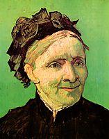 Portrait of the Artist-s Mother, 1888, vangogh