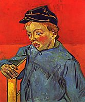 Portrait of Camille, the youngest son, 1890, vangogh