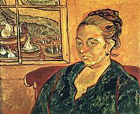 Portrait of Madame Augustine Roulin , 1888, vangogh