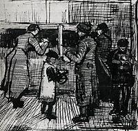 The Public Soup Kitchen, 1883, vangogh