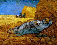 Rest Work (after Millet), 1890, vangogh