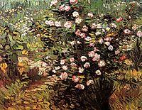 Rosebush in Blossom, 1889, vangogh